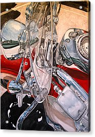 Utah Chrome Acrylic Print by Lance Wurst