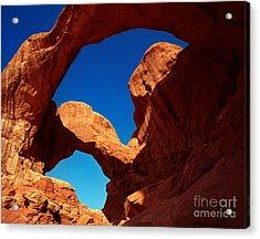 Utah - Double Arch Acrylic Print