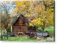 Utah Homestead Acrylic Print