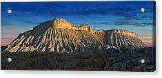 Utah Outback 40 Panoramic Acrylic Print by Mike McGlothlen