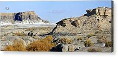 Utah Outback 42 Panoramic Acrylic Print by Mike McGlothlen