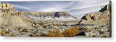 Utah Outback 43 Panoramic Acrylic Print by Mike McGlothlen
