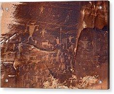 Utah Rock Art Acrylic Print