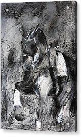 Uthopia Acrylic Print by Adrian McMillan