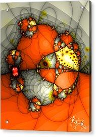 V-01 Acrylic Print by Dennis Brady