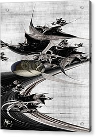 V-41 Acrylic Print by Dennis Brady