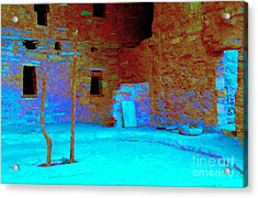 Vacancy At Spruce Tree House Acrylic Print