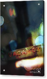 Vacancy Acrylic Print by Margie Hurwich