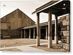 Acrylic Print featuring the photograph Vacant by Kirt Tisdale