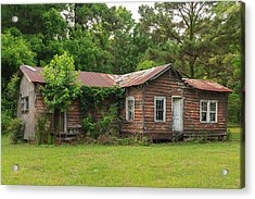 Vacant Rural Home Acrylic Print by Patricia Schaefer