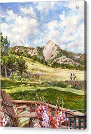 Vacation At Chautauqua Acrylic Print