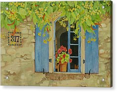 Vacation Memory Acrylic Print by Mary Ellen Mueller Legault