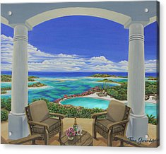Vacation View Acrylic Print