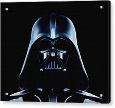 Vader Acrylic Print by Jeff DOttavio