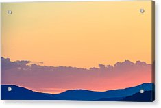 Vail Sunset Acrylic Print