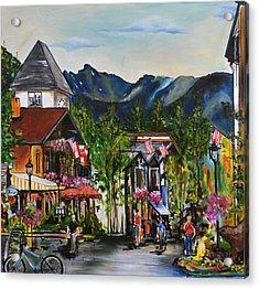 Vail Village Acrylic Print