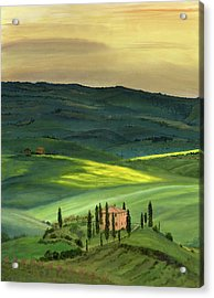 Val D II Acrylic Print by Cecilia Brendel