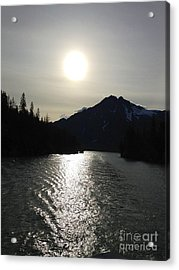 Acrylic Print featuring the photograph Valdez Water's by J Ferwerda