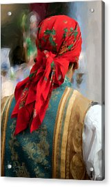 Acrylic Print featuring the photograph Valencian Man In Traditional Dress. Spain by Juan Carlos Ferro Duque