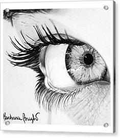 Valentina Acrylic Print by Barbara Bright