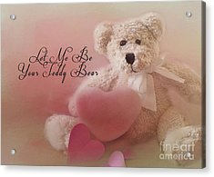 Valentine Bear 2 Acrylic Print