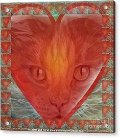 Valentine Gallery Number 3 Acrylic Print by PainterArtist FIN