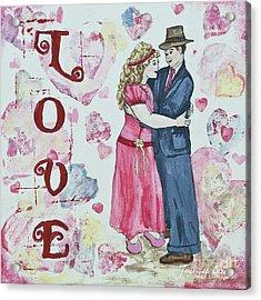 Valentine Love Acrylic Print