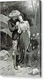 Acrylic Print featuring the photograph Valentines Day, 1898 by British Library