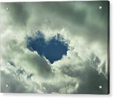 Valentine's Day - Heart Shape Acrylic Print by Daliana Pacuraru