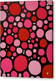 Valentines Day Acrylic Print by Jeff Gater