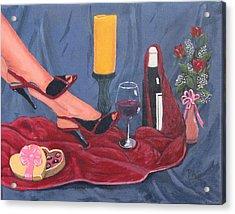 Valentine's Day Acrylic Print by Pete Souza