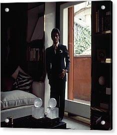 Valentino In Shadow Acrylic Print