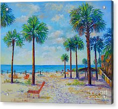 Valerie's View Of Siesta Key Acrylic Print