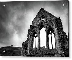 Valle Crucis Abbey Acrylic Print by Dave Bowman