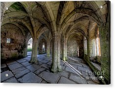 Valle Crucis Chapter House  Acrylic Print