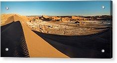 Valle De La Luna From Sans Dunes Acrylic Print