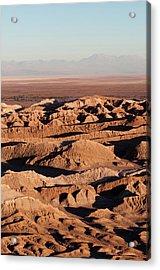 Valle De La Luna (valley Of The Moon Acrylic Print
