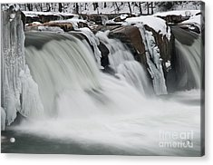 Valley Falls D30009145 Acrylic Print by Kevin Funk