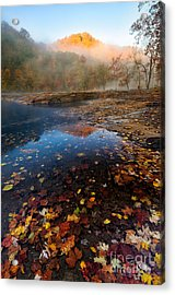Valley Falls D300_18786 Acrylic Print by Kevin Funk