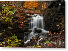 Valley Falls West Virginia Acrylic Print by Dung Ma