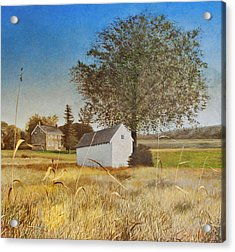 Valley Forge Spring House Acrylic Print by Randall Graham