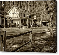 Valley Green Inn 2 Acrylic Print by Jack Paolini