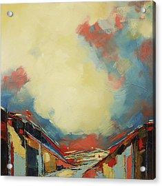 Valley Iv Acrylic Print by Sweet Murmur