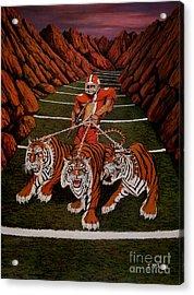 Valley Of Death Acrylic Print by Jeff McJunkin