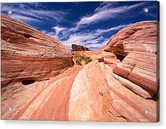Valley Of Fire 2 Acrylic Print