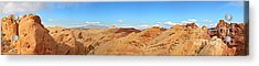 Valley Of Fire Pano Acrylic Print by Jane Rix