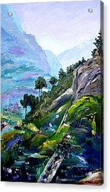 Valley Of Saints Acrylic Print