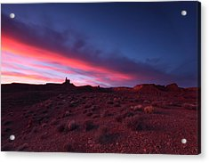 Valley Of The Gods Acrylic Print by Darryl Wilkinson