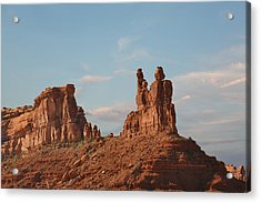 Valley Of The Gods - Escape From Civilization Acrylic Print by Christine Till