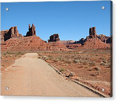 Valley Of The Gods Acrylic Print